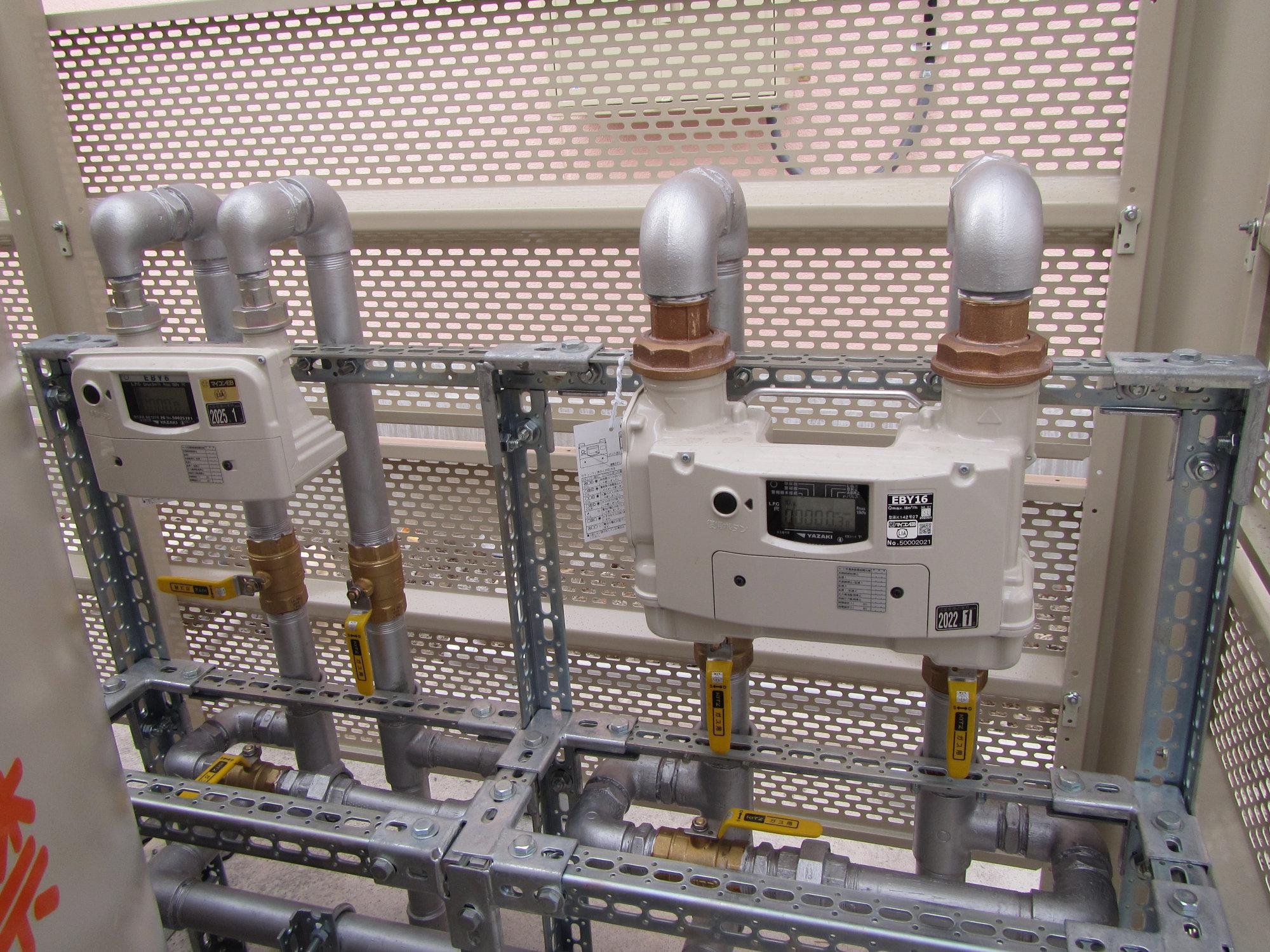 ガス器具の交換事例・ガス設備の設計施工のページ更新しました。